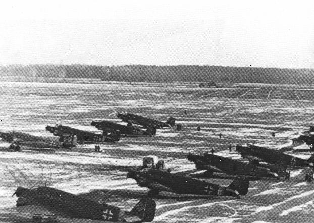 Pickert worked tirelessly to ensure that his two main airfields